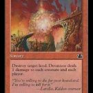 Devastate (Magic The Gathering MTG: Prophecy Card #87) Red Common, for sale