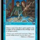 Accumulated Knowledge NR MINT (Magic, MTG: Nemesis Card #26) UNPLAYED Blue Common, for sale