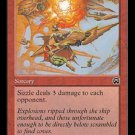 Sizzle (Magic MTG: Mercadian Masques Card #213) Red Common, for sale