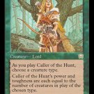 Caller of the Hunt (Magic MTG: Mercadian Masques Card #233) MINT UNPLAYED Green RARE, for sale