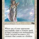 Opal Caryatid (Magic MTG: Urza's Saga Card #24) White Common, for sale