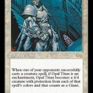 Opal Titan - MINT (Magic MTG: Urza's Saga Card #26) UNPLAYED White RARE, for sale