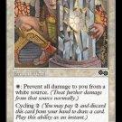 Rune of Protection: White (Magic MTG: Urza's Saga Card #41) White Common, for sale
