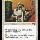 Sanctum Custodian (Magic MTG: Urza's Saga Card #42) White Common, for sale