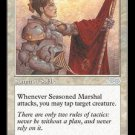 Seasoned Marshal - NEAR MINT (Magic MTG: Urza's Saga Card #44) UNPLAYED White Uncommon, for sale