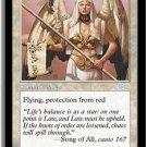 Voice of Law - VF+/NEAR MINT (Magic MTG: Urza's Saga Card #55) UNPLAYED White Uncommon, for sale