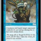 Exhaustion - MINT (Magic MTG: Urza's Saga Card #74) UNPLAYED Blue Uncommon, for sale