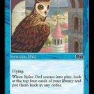 Spire Owl (Magic MTG: Urza's Saga Card #98) Blue Common, for sale