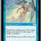 Zephid's Embrace (Magic MTG: Urza's Saga Card #114) Blue Uncommon, for sale