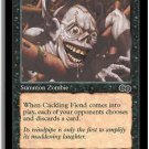 Cackling Fiend (MTG: Urza's Saga Card #121) Black Common, Magic the Gathering card for sale