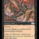 Crazed Skirge - MINT (Magic MTG: Urza's Saga Card #125) UNPLAYED Black Uncommon, for sale