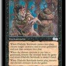 Diabolic Servitude - NEAR MINT (Magic MTG: Urza's Saga Card #130) UNPLAYED Black Uncommon, for sale