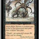 Exhume - NEAR MINT (Magic MTG: Urza's Saga Card #134) UNPLAYED Black very powerful card, for sale
