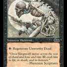 Unworthy Dead (MTG: Urza's Saga Card #163) Black Common, Magic the Gathering card for sale