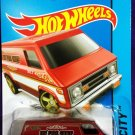 2015 Hot Wheels #55 Super Van Red