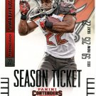 2014 Panini Contenders Football Card #21 Doug Martin