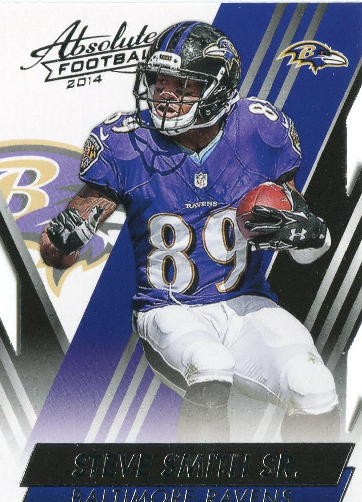 2014 Absolute Football Card #4 Steve Smith