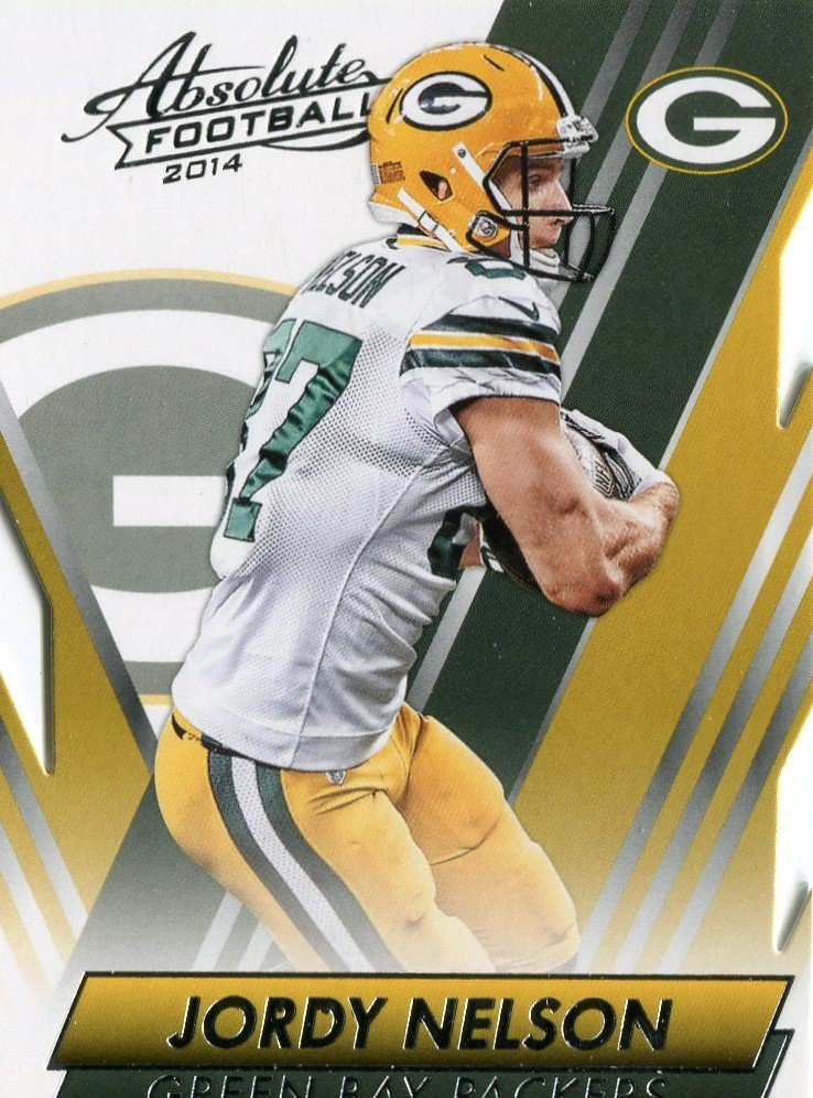 2014 Absolute Football Card #26 Jordy Nelson