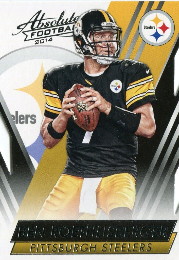 2014 Absolute Football Card #37 Ben Roethlisberger