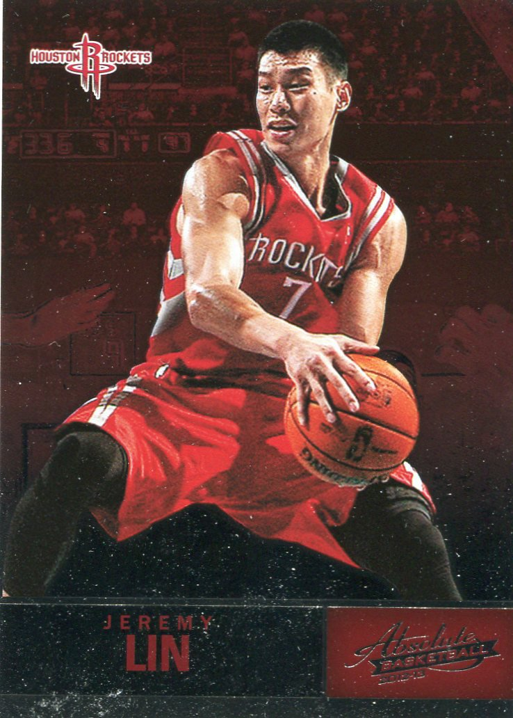 2012 Absolute Basketball Card #16 Jeremy Lin