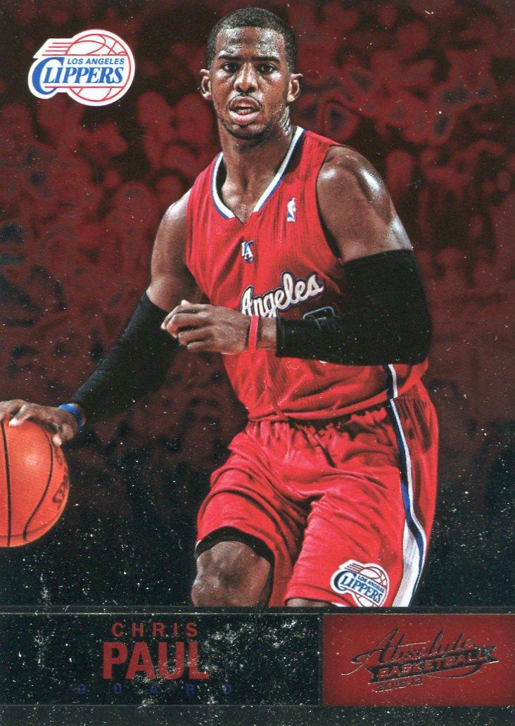 2012 Absolute Basketball Card #37 Chris Paul