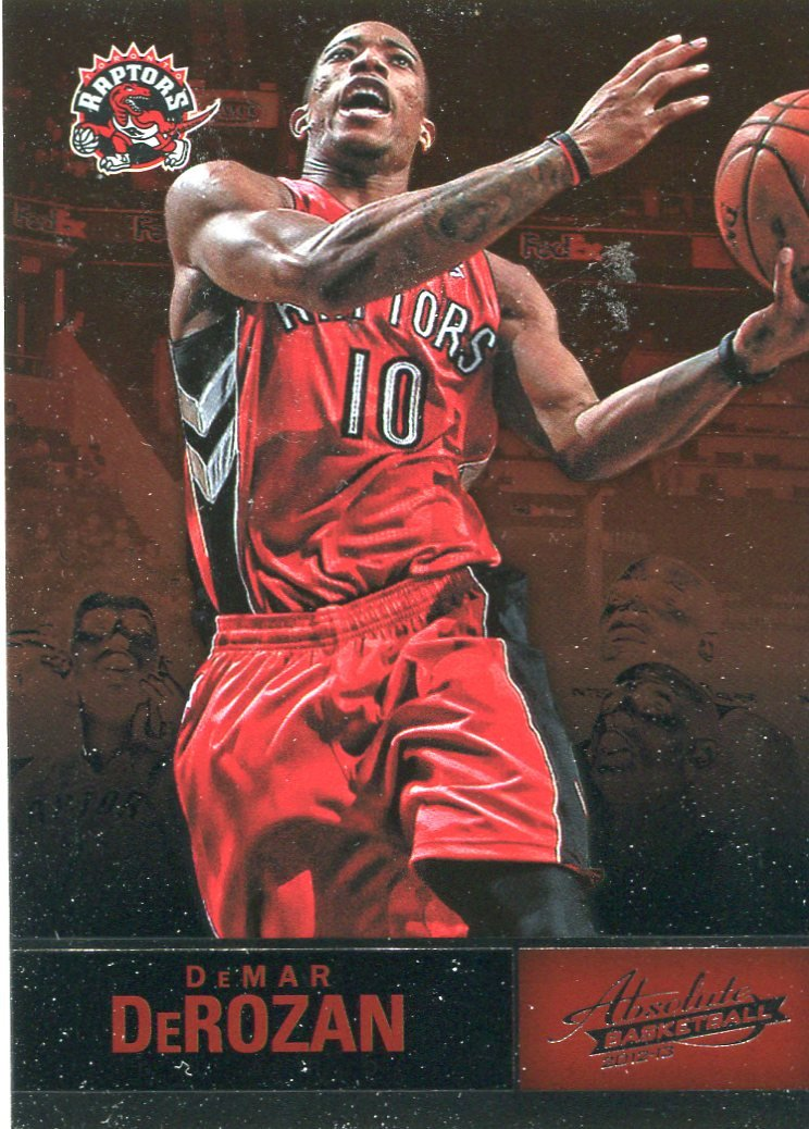 2012 Absolute Basketball Card #54 DeMar DeRozen