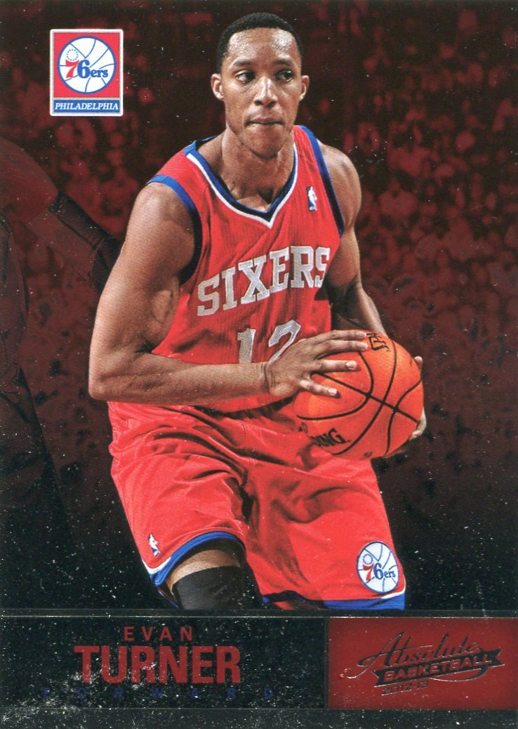 2012 Absolute Basketball Card #58 Evan Turner
