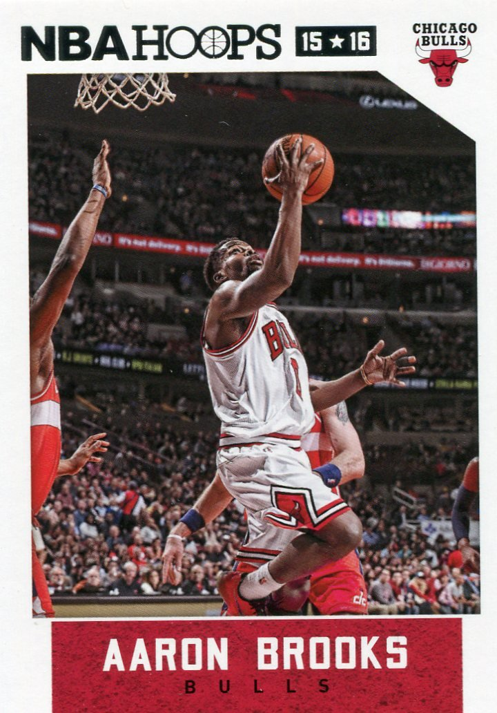 2015 Hoops Basketball Card #5 Aaron Brooks