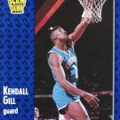 1991 Fleer Basketball Card #232 Kendall Gill