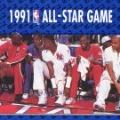 1991 Fleer Basketball Card #233 Michael Jordan All Star Game