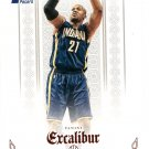 2014 Excalibur Basketball Card Red #102 David West