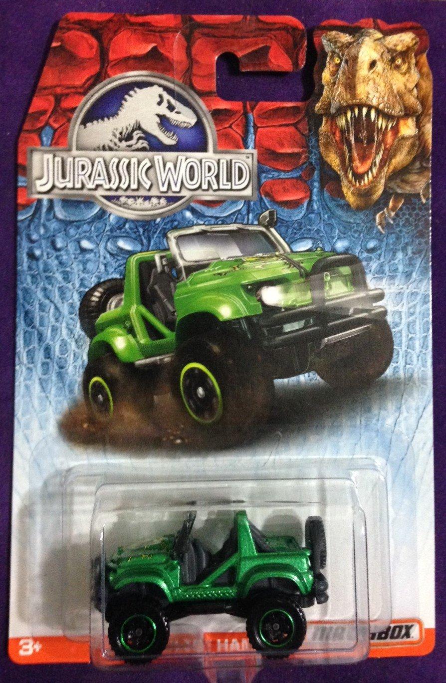 2015 Matchbox Jurassic World #4 Cliff Hanger