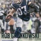 2015 Prestige Football Card #3 Rob Gronkowski