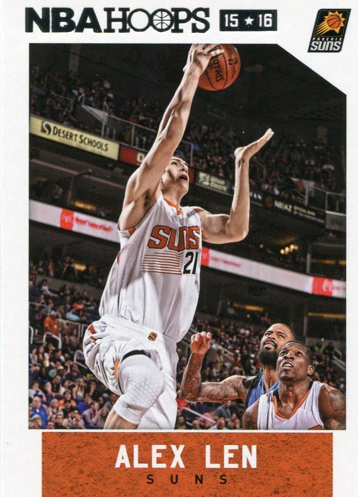 2015 Hoops Basketball Card #75 Alex Len