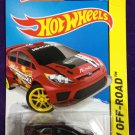 2015 Hot Wheels #78 12 Ford Festiva Maroon