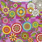 Grown Up Coloring Book Floral Designs 1