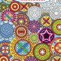 Grown Up Coloring Book Geometrical Designs 3
