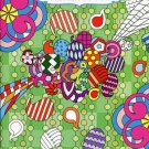 Grown Up Coloring Book Geometrical Designs 4