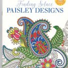 Grown Up Coloring Book Paisley Designs