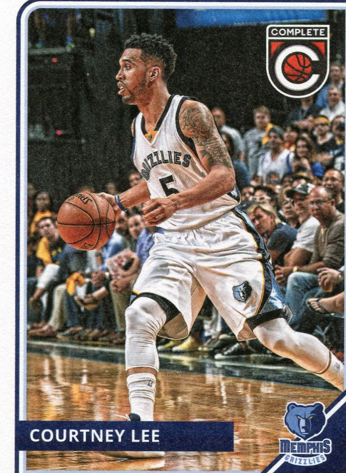 2015 Complete Basketball Card #60 Courtney Lee