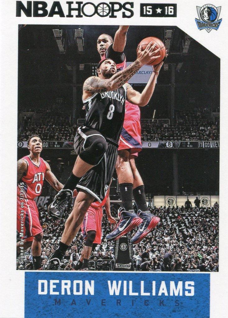 2015 Hoops Basketball Card #99 Deron Williams