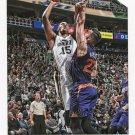 2015 Hoops Basketball Card #109 Derrick Favors