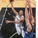 2015 Hoops Basketball Card #110 Tony Parker