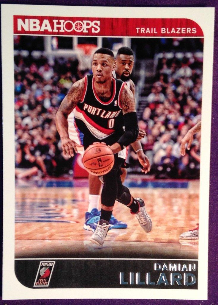 2014 Hoops Basketball Card #36 Damian Lillard