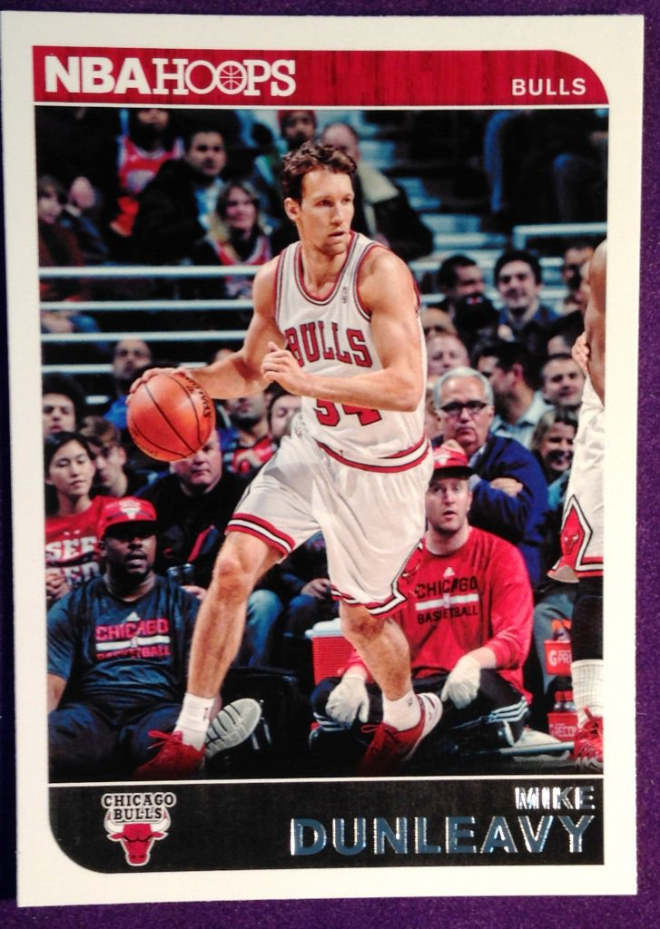 2014 Hoops Basketball Card #45 Mike Dunleavey