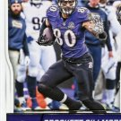 2016 Score Football Card #28 Crockett Gillmore
