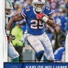 2016 Score Football Card #35 Karlos Williams