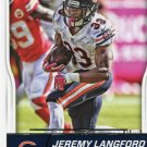 2016 Score Football Card #56 Jeremy Langford