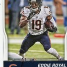 2016 Score Football Card #61 Eddie Royal