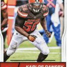 2016 Score Football Card #82 Karlos Dansby